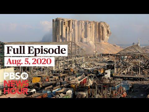 PBS NewsHour full episode, Aug. 5, 2020