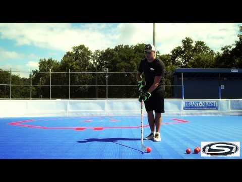 Stick Skillz Ball Hockey (Shooting Accuracy)