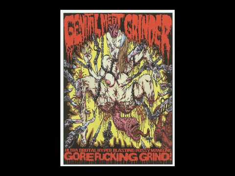 Genital Meat Grinder - some unreleased tracks online metal music video by GENITAL MEAT GRINDER