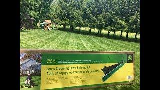 5. John Deere Grass Groomer Striping Kit Review