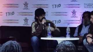 Damian Marley entrevista Bogota Colombia Casa de las verdades
