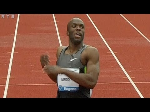 Lashawn Merritt wins 400m, Kirani James DQed at 2012 Pre Classic