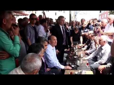 İstanbul Belediye Başkanı Topbaş Pazar'da