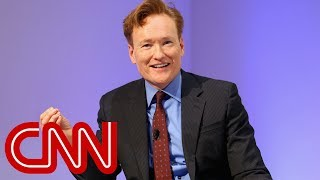 Video Conan: It's exhausting to keep up with Trump MP3, 3GP, MP4, WEBM, AVI, FLV April 2018