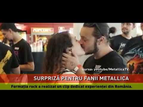 Metallica a realizat un clip dedicat experienței din România