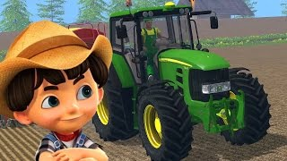 Video John Deere tractor - Tractor video for kids - Cartoon MP3, 3GP, MP4, WEBM, AVI, FLV November 2017