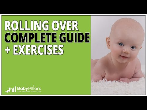 Rolling Over Baby - Complete Guide + Exercises. [2018]