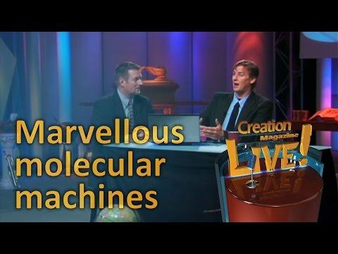 Marvellous molecular machines– Creation Magazine LIVE! (2-12)