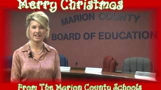 Marion County Schools Holiday Greeting 2013