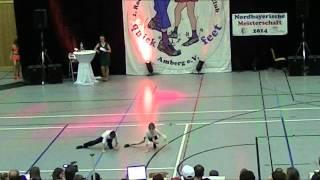Madita Pilgram & Niklas Pilgram - Nordbayerische Meisterschaft 2014