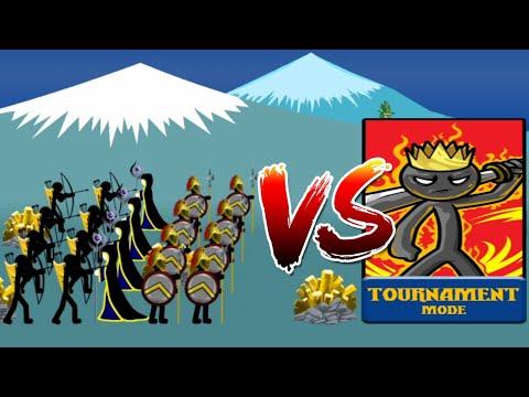 Elite ARMY and Healers vs Insane MODE Tournament | Stick War Legacy