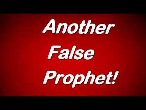 2017 prophet Joshua T B  another false prophet