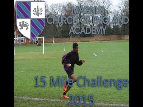 Magnus C of E Academy - 15 mile video