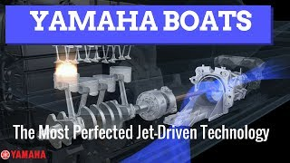 4. Yamaha Boats -- The Most Perfected Jet Drive Technology