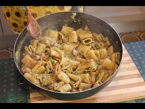 paccheri del capo dei capi - ricetta siciliana