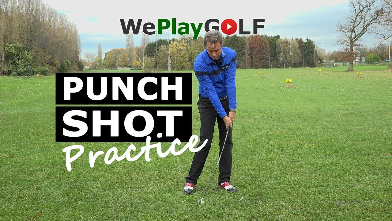 How to  play a punch shot