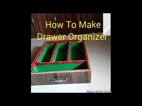 Homemade drawer organizer || Divider || at home || By Shriya Patel