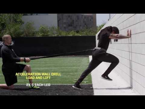 NFL選手が行うスピード&パワーアップエクササイズ【6種目】