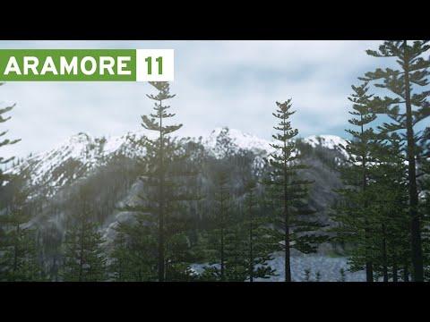 Cities Skylines: Aramore (Episode 11) - Terraforming & Snowcapped Mountains (видео)