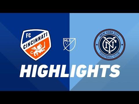 Video: FC Cincinnati vs. NYCFC | HIGHLIGHTS - August 17, 2019