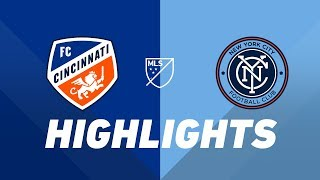 FC Cincinnati vs. NYCFC | HIGHLIGHTS - August 17, 2019 by Major League Soccer