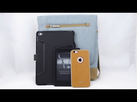 Moshi Aerio Lite: A Beautifully Made Vertical Messenger Bag for your MacBook or iPad