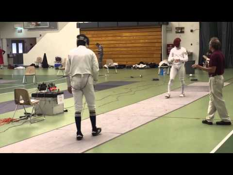 15-touch Epee Bout - Hajir Vs  Lapin