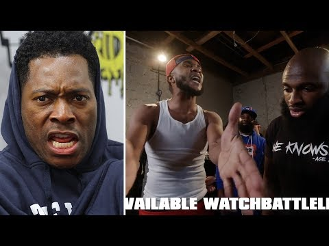 SWAMP Goes F@$K!%& CRAZYY!!! vs ACE AMIN!! URLTV #SmackVOL5 RAP Battle! REACTIONS