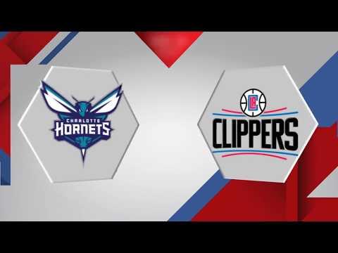 Charlotte Hornets vs. Los Angeles Clippers - December 31, 2017