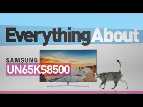 Samsung 65 inch UN65KS8500 ( KS8500 ) Curved 4K SUHD TV // Full Spec Review #SamsungTV