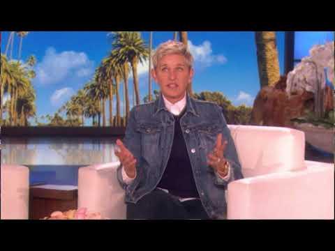 Ellen DeGeneres tells viewers how she fled her home