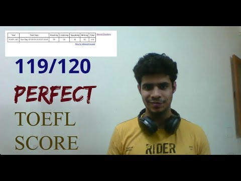 SCORING A 120 ON THE TOEFL - MY SCORE & MATERIAL - DON'T GO TO COACHINGS!