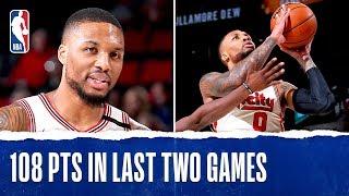 Damian Lillard Makes TRAIL BLAZERS HISTORY by NBA
