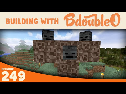 Minecraft :: Wither Secrets!? :: Building with BdoubleO :: Episode 249