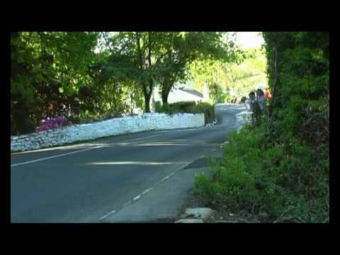 Isle Of Man.TT 2010.Bottom Of Barregarrow.