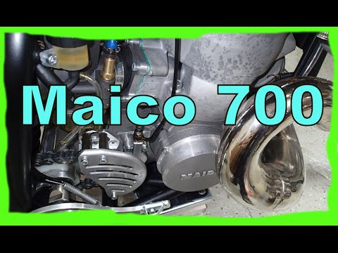 Maico 700 Two Stroke (2 Stroke) ATK Intimidator Dirtbike