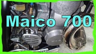 6. Maico 700 Two Stroke (2 Stroke) ATK Intimidator Dirtbike