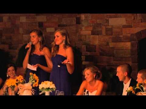 Maids of Honor Speech