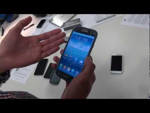 Предварительный обзор Samsung Galaxy S III от Droider.ru