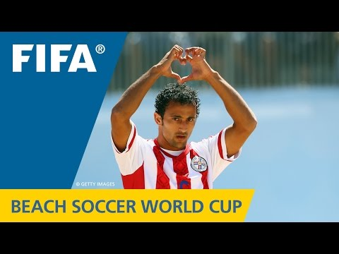 Beach Soccer World Cup BEST GOALS: Pedro MORAN (Paraguay v. Russia)
