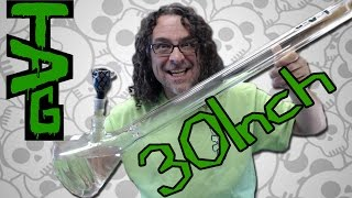GLASS HAUL T.A.G. Thick Ass Glass 30 inch BIG BOY BONG RETURNS by Sound Experiments