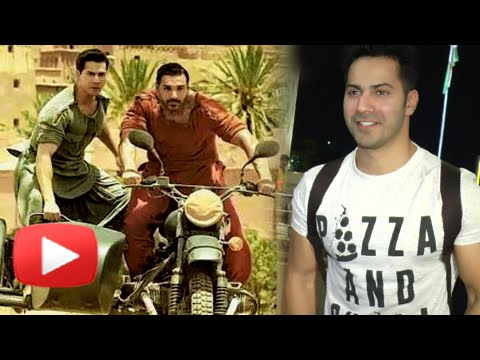 Varun Dhawan REACTS On Dishoom Trailer 8 Million H