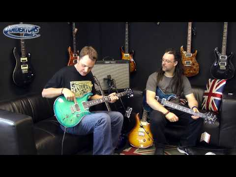 RobChappers - PRS USA Guitars have returned to Andertons and they are looking and sounding as great as ever. Rob and Lee give an overview of the entire range and explain t...