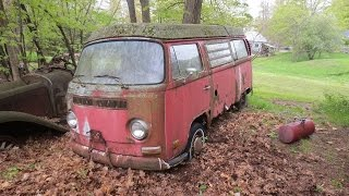 Video 31 years in a field, vw bus, will it run? MP3, 3GP, MP4, WEBM, AVI, FLV Januari 2019