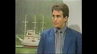 Cena do capítulo 184 de 'Sassaricando'.Exibida pelo GNT Portugal.Reprise da exibição original pela TV Globo em 11 de junho de 1988