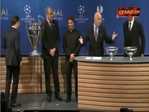 Sorteo UEFA Champions League 2013 Semifinales
