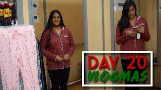 SEARCHING FOR MATCHING PAJAMAS FOR CHRISTMAS EVE | Vlogmas Day 20