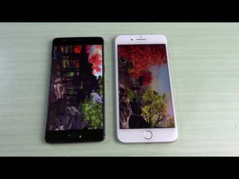 OnePlus 3T Nougat vs Apple iPhone 7 Plus ITA