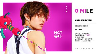 """What is the line distribution of NCT 127's """"0 Mile"""" like? Watch the video to find out. Outro: NCT 127 - Summer 127 Album: Cherry..."""