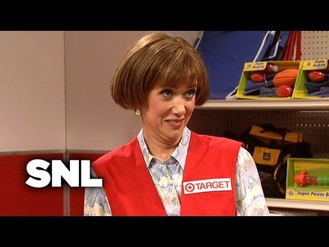 Target Lady: Meets Her First Lesbian - SNL